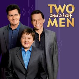 Two and a half men (with Charlie)